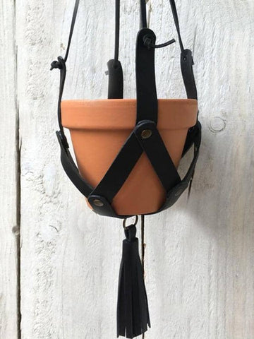 Craft your own Leather Plant Hanger