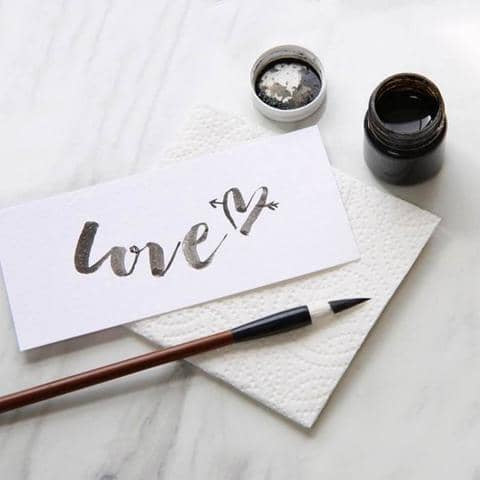 Learn Brush Lettering for Beginners