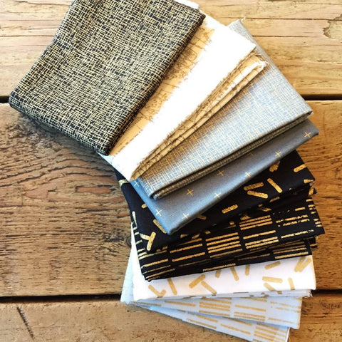 Create a set beautiful fabric envelopes