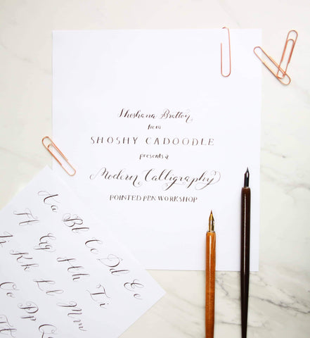 Calligraphy for Christmas