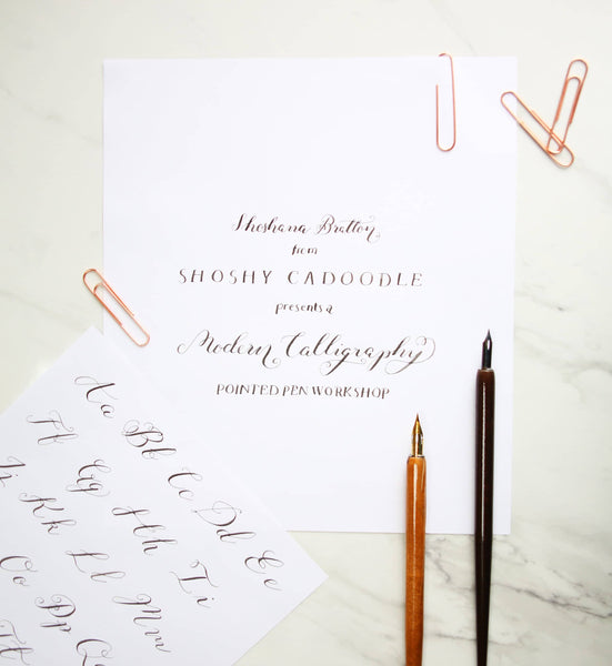 Master modern calligraphy and create your own framed quote