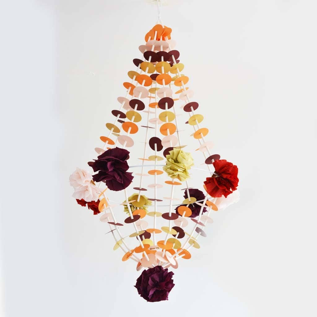 Embrace colour and make a pajaki inspired paper chandelier london home products embrace colour and make a pajaki inspired paper chandelier aloadofball Choice Image