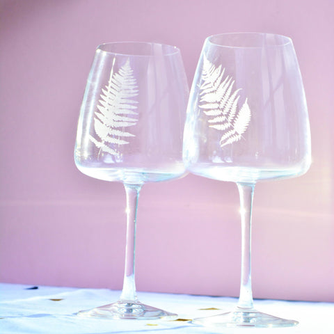 Create a Set of Beautifully Etched Glasses