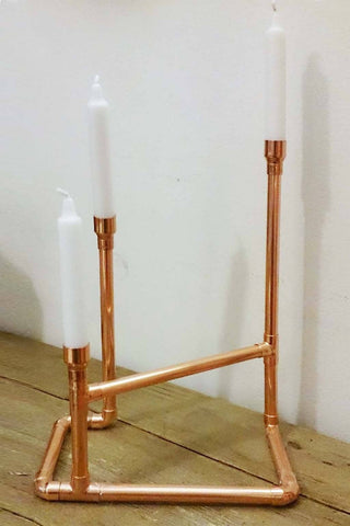 Hand Make your own Copper Candelabra