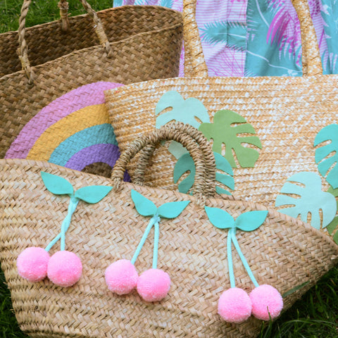 Customise a Summer Beach Bag