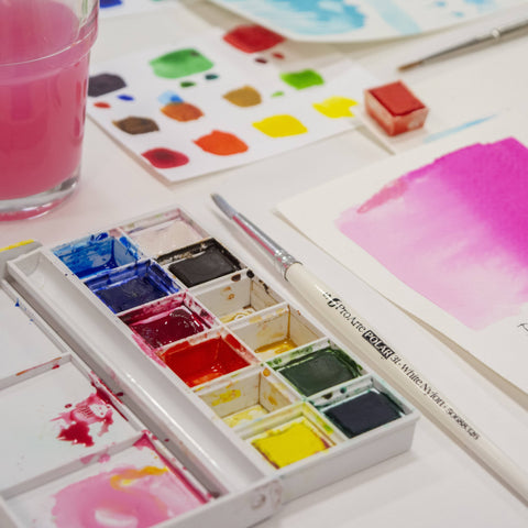 Can't Draw? You can still paint in watercolours