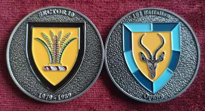 Commemorative Challenge Coin - Sector 10 - 102 Battalion