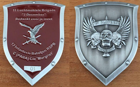 Commemorative Challenge Coin - 11th Airmobile Brigade