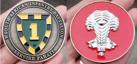 Commemorative Challenge Coin - 1 SA Infantry Battalion