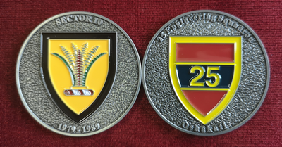 Commemorative Challenge Coin - Sector 10 - 25 Engineering Squadron
