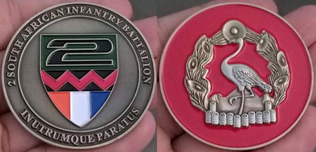 Commemorative Challenge Coin - 2 SA Infantry Battalion