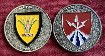 Commemorative Challenge Coin - Sector 10 - 51 Battalion