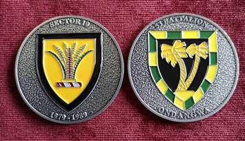 Commemorative Challenge Coin - Sector 10 - 53 Battalion
