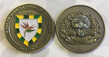 Commemorative Challenge Coin - 6 SA Infantry Battalion