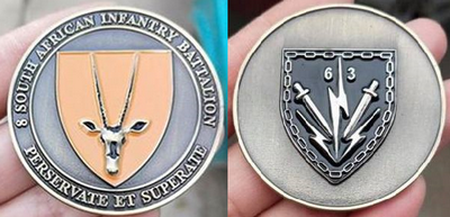 Commemorative Challenge Coin - 8 SA Infantry Battalion