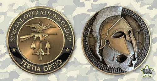 Commemorative Challenge Coin - CIA Special Operations Group