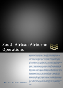 South African Airborne Operations ***FREE eBook, 33 pages***