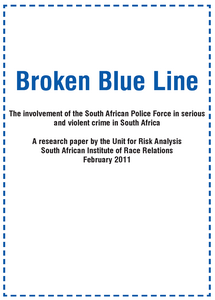 Broken Blue Line - Volume 1 ***FREE eBook, 32 pages***