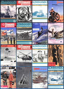 Commando / Kommando: Dec 1949 to Oct 1970 (245 Digital Magazines on USB Drive)