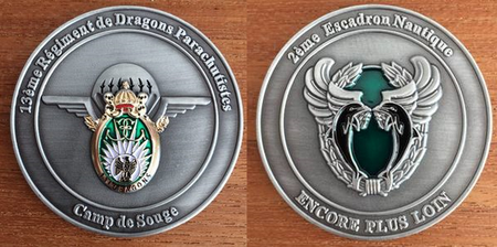 Commemorative Challenge Coin - 13th Parachute Dragoon Regiment