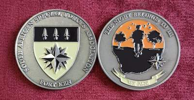SA Special Forces: Fort KZN Challenge Coin