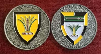 Commemorative Challenge Coin - Sector 10 - Training Unit