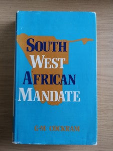 South West African Mandate - GM Cockram