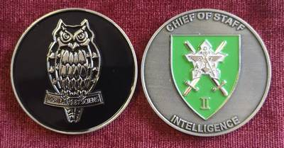Commemorative Challenge Coin - Chief of Staff: Intelligence