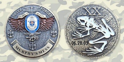 Commemorative Challenge Coin - Lt Mike Murphy