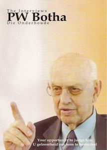 PW Botha: The Interviews / Die Onderhoude (DVD)