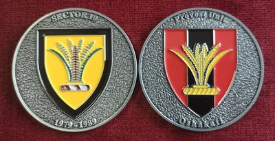 Commemorative Challenge Coin - Sector 10 - Provost Unit