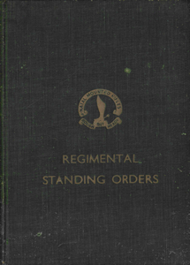 Regimental Standing Orders - Natal Mounted Rifles ***eBook, 130 pages***