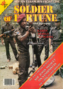 Soldier of Fortune (Digital Magazine) - April 1984