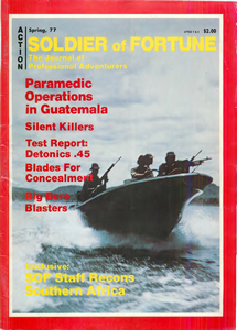 Soldier of Fortune (Digital Magazine) - Spring 1977