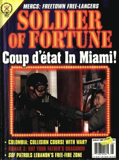 Soldier of Fortune (Digital Magazine) - August 2000