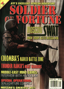 Soldier of Fortune (Digital Magazine) - January 1998