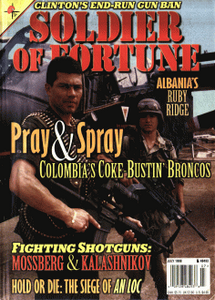 Soldier of Fortune (Digital Magazine) - July 1998