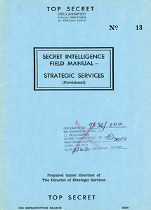 Secret Intelligence Field Manual ***eBook, 48 pages***