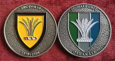 Commemorative Challenge Coin - Sector 10 - Signals Unit