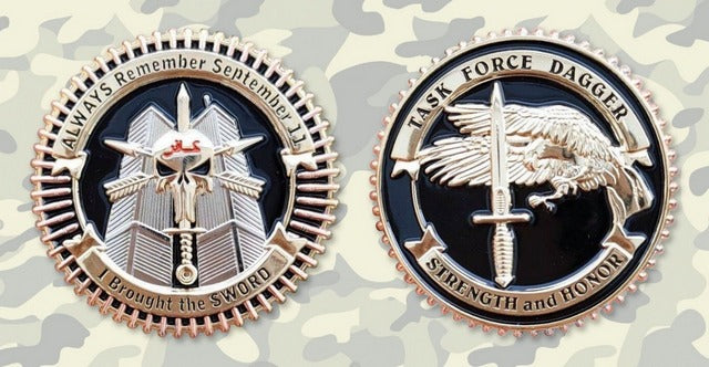 Commemorative Challenge Coin - Task Force Dagger