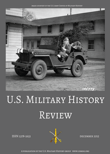 US Military History Review - Vol 2, Number 1 (eBook)