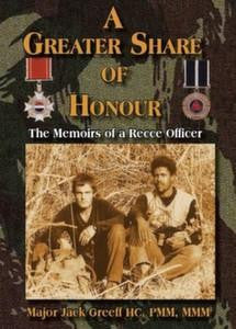 A Greater Share Of Honour: The Memoirs Of A Recce Officer   -   Major Jack Greeff