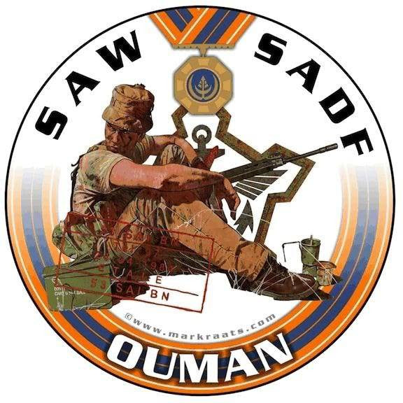 OUMAN Licence Disk Sticker