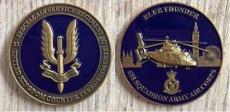 Commemorative Challenge Coin - SAS Blue Thunder