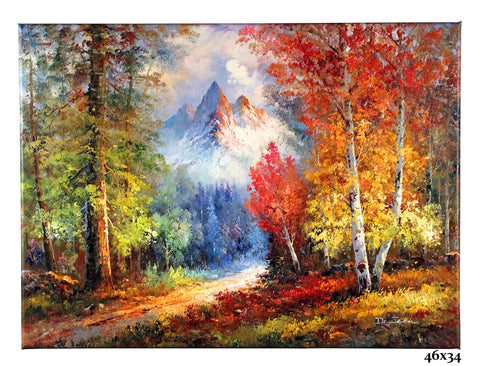 Mountain Landscape Fall