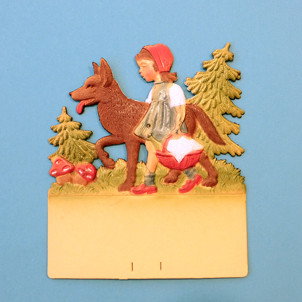 Vintage wall calendar set-Little Red Riding Hood