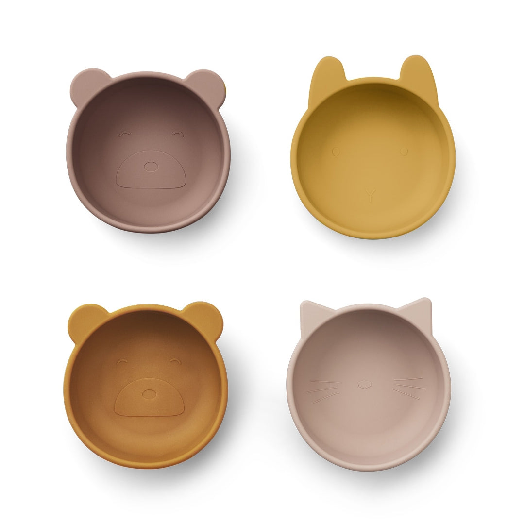IGGY SILICONE BOWLS  – MULTI 4 PACK