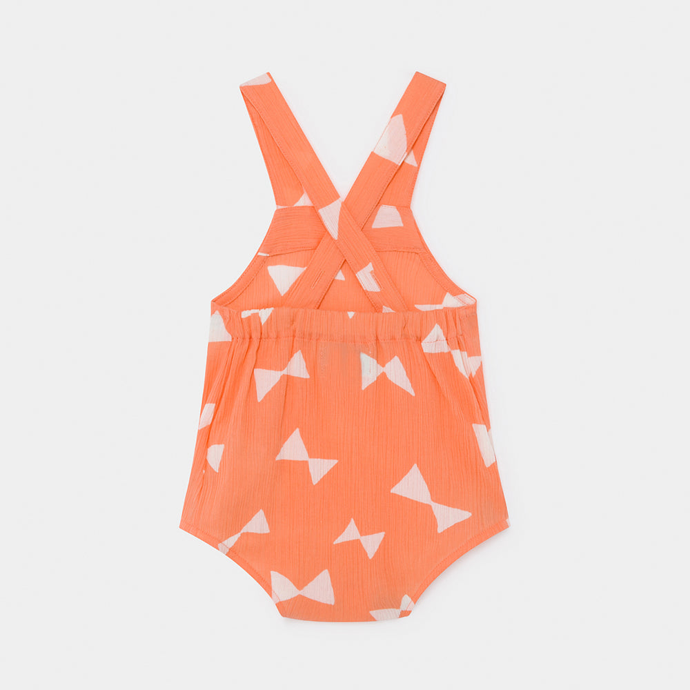 All Over Bow Romper