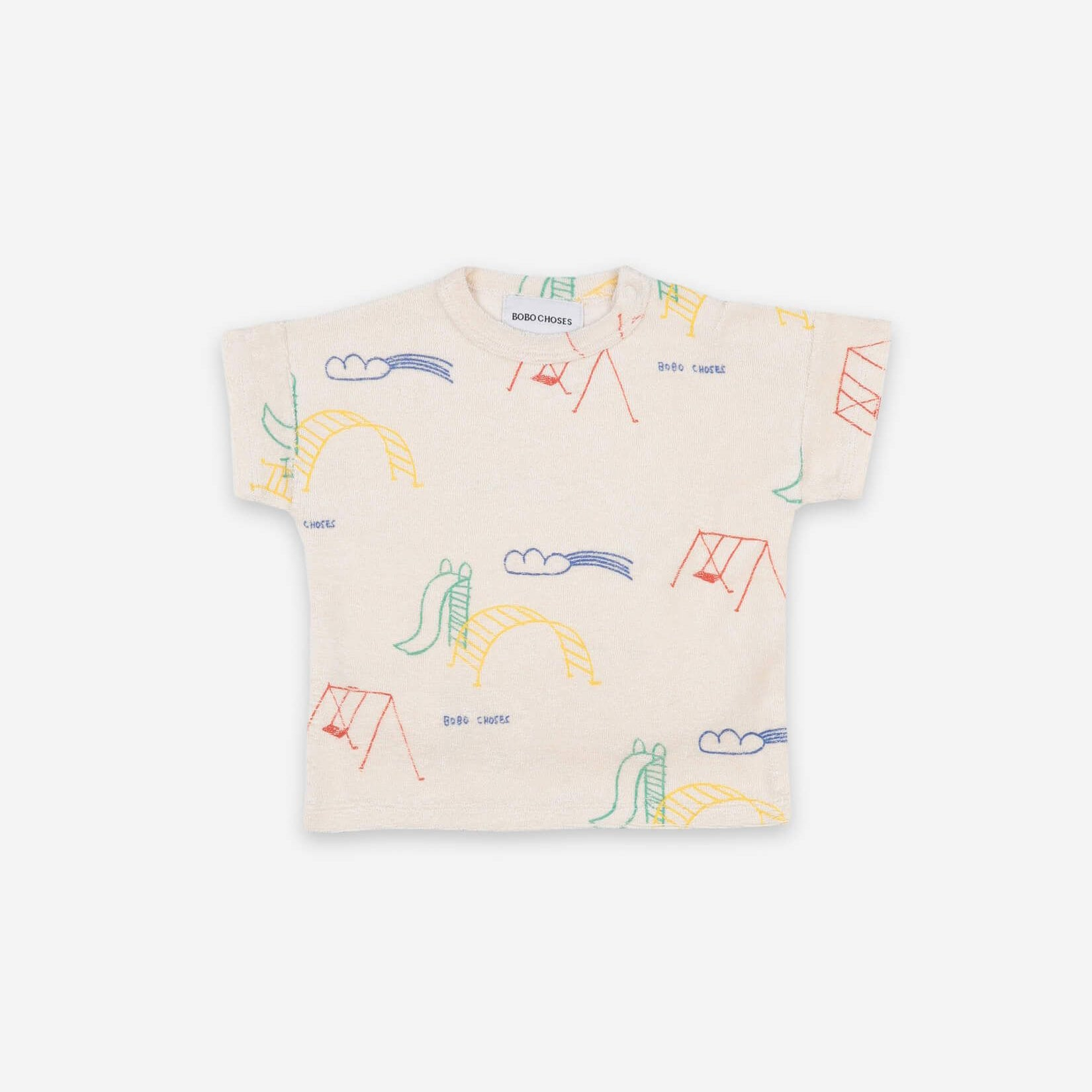 Playground All Over Short Sleeve T-shirt