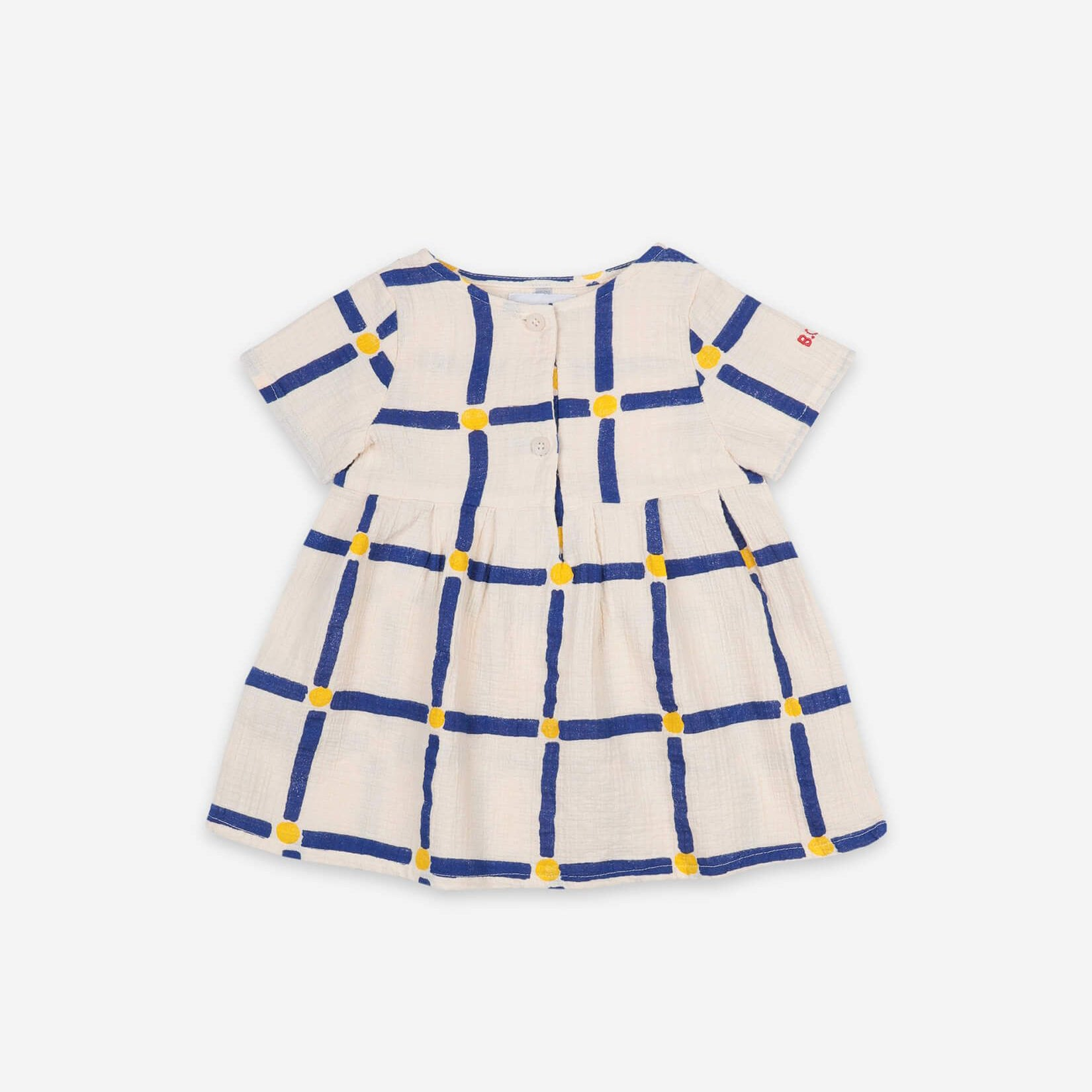 Cube All Over Buttoned Dress